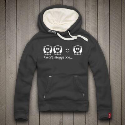 Sheep-ish ® There's Always One… Black Sheep Unisex Hoodie
