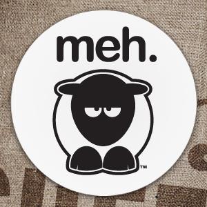 Sheep-ish ® Meh. Coaster