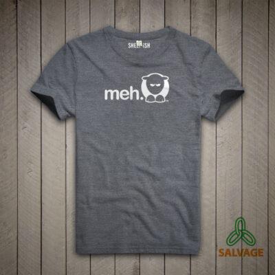 Sheep-ish ® Meh Salvage™ Recycled/Organic T-shirt
