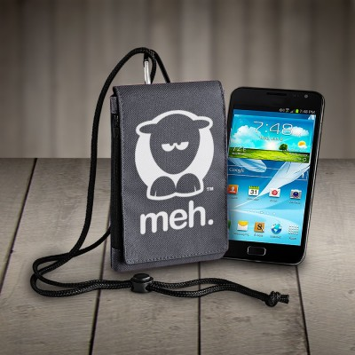 Sheep-ish ® Meh Phone Pouch Grey