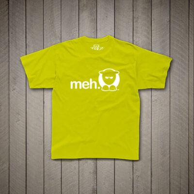 Sheep-ish ® Kids Meh T-Shirt Lime