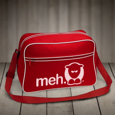 Sheep-ish ® Meh Retro Shoulder Bag Red