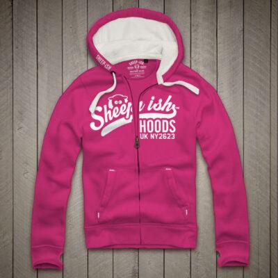 Sheep-ish ® Hoods Honeysuckle Zip