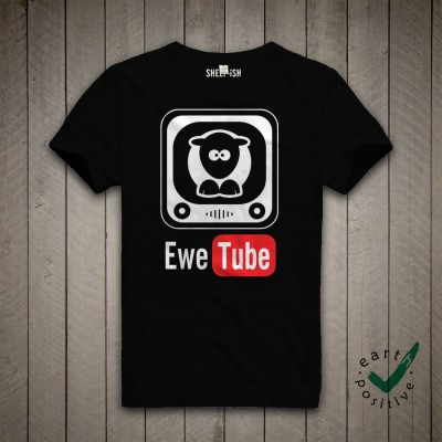 Sheep-ish ® Ewe Tube Unisex Organic T-shirt