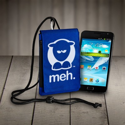Sheep-ish ® Meh Phone Pouch Royal Blue