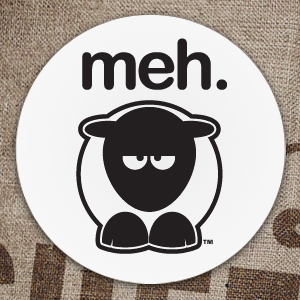 Sheep-ish ® Meh. Coaster