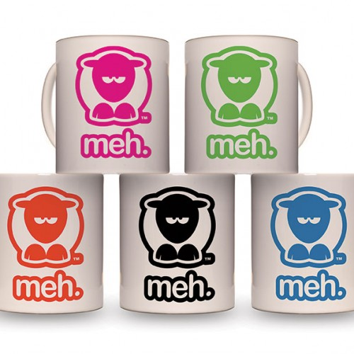 Sheep-ish ® Meh. Mug