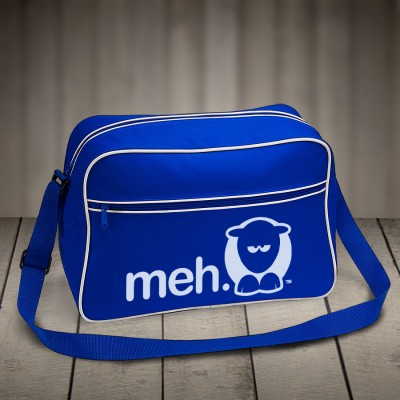 Sheep-ish ® Meh Retro Shoulder Bag Blue
