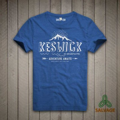Sheep-ish ® Keswick, Adventure Awaits Salvage™ Recycled/Organic T-shirt