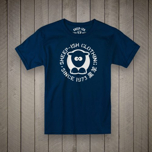 Sheep-ish® Kids 1973 Navy T-Shirt
