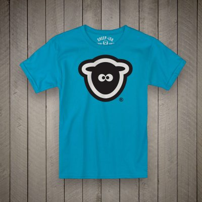 Sheep-ish ® Kids Organic Face Logo T-Shirt