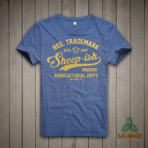 Sheep-ish ® Agricultural Salvage™ Recycled/Organic T-shirt