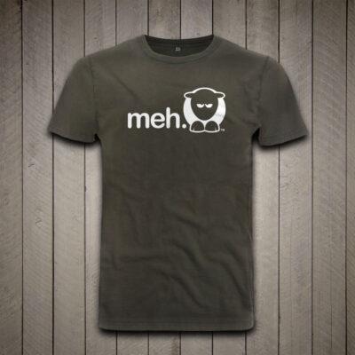 Sheep-ish ® Stonewash Green Meh Earth Positive™ Organic Cotton T-shirt