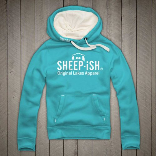 Sheep-ish ® Clothing Original Lakes Apparel Hoodie Lagoon