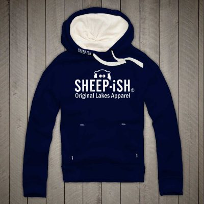 Sheep-ish ® Clothing Original Lakes Apparel Hoodie Navy