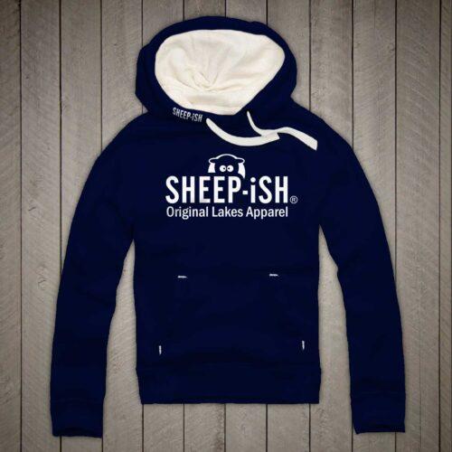 Sheep-ish ® Clothing Original Lakes Apparel Hoodie Navy