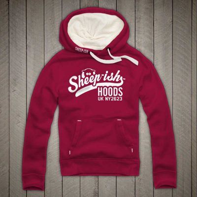 Sheep-ish ® Clothing Sheep-ish Hoods Cranberry