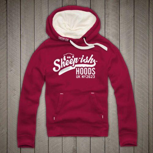Sheep-ish ® Clothing Sheep-ish Hoods Cranberry